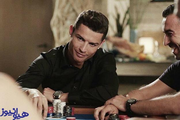 بازیکن معروف فوتبال در پوکر