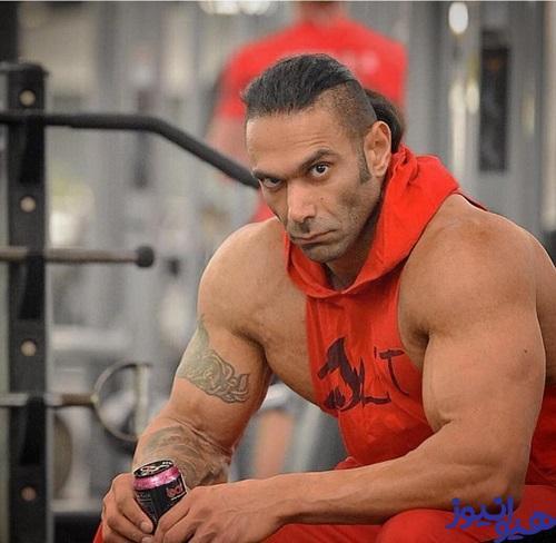 سهیل سنگرزاده در قویترین مردان